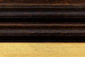 WALNUT and GOLD