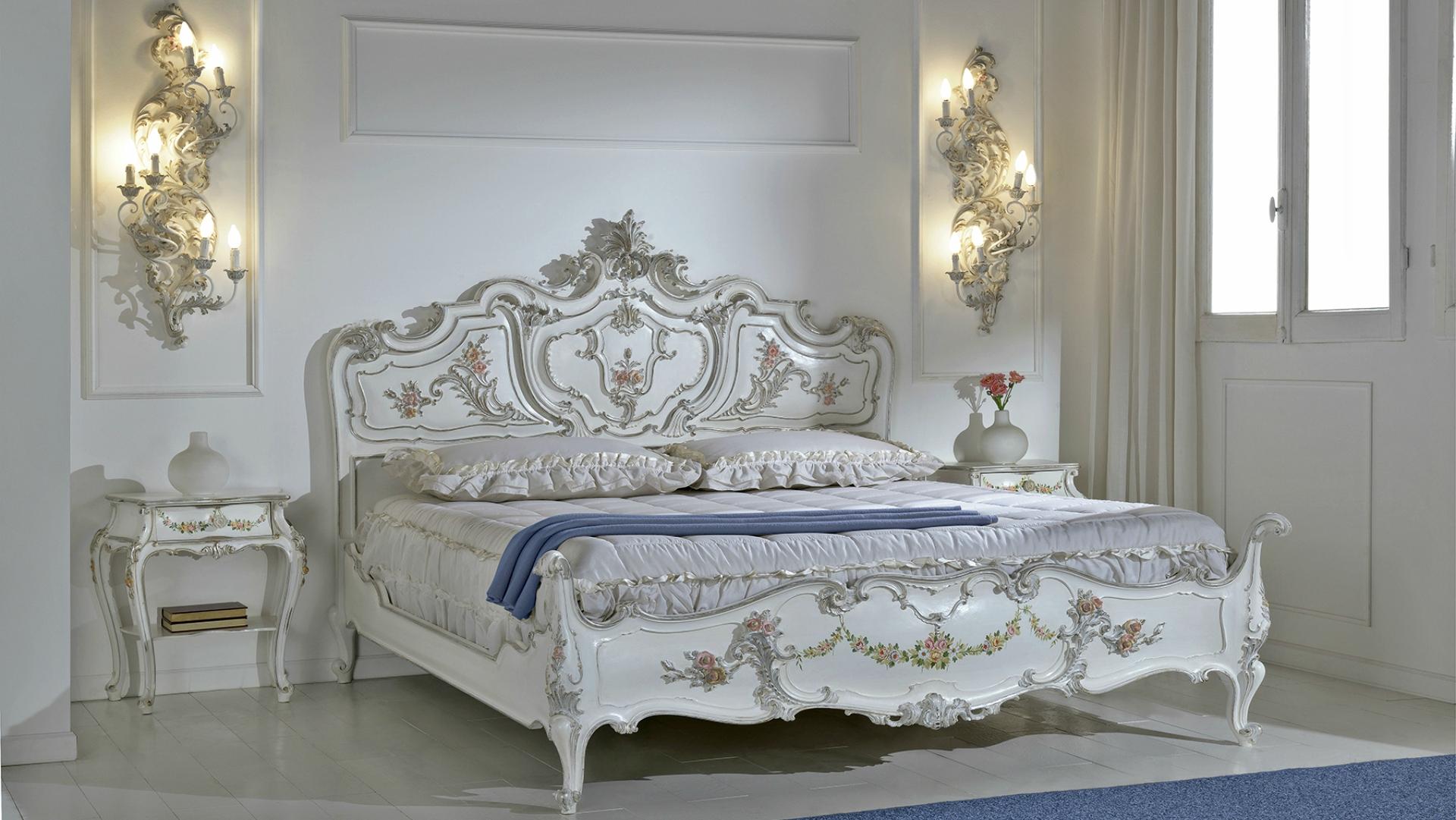 prezzi offerte letto stile barocco