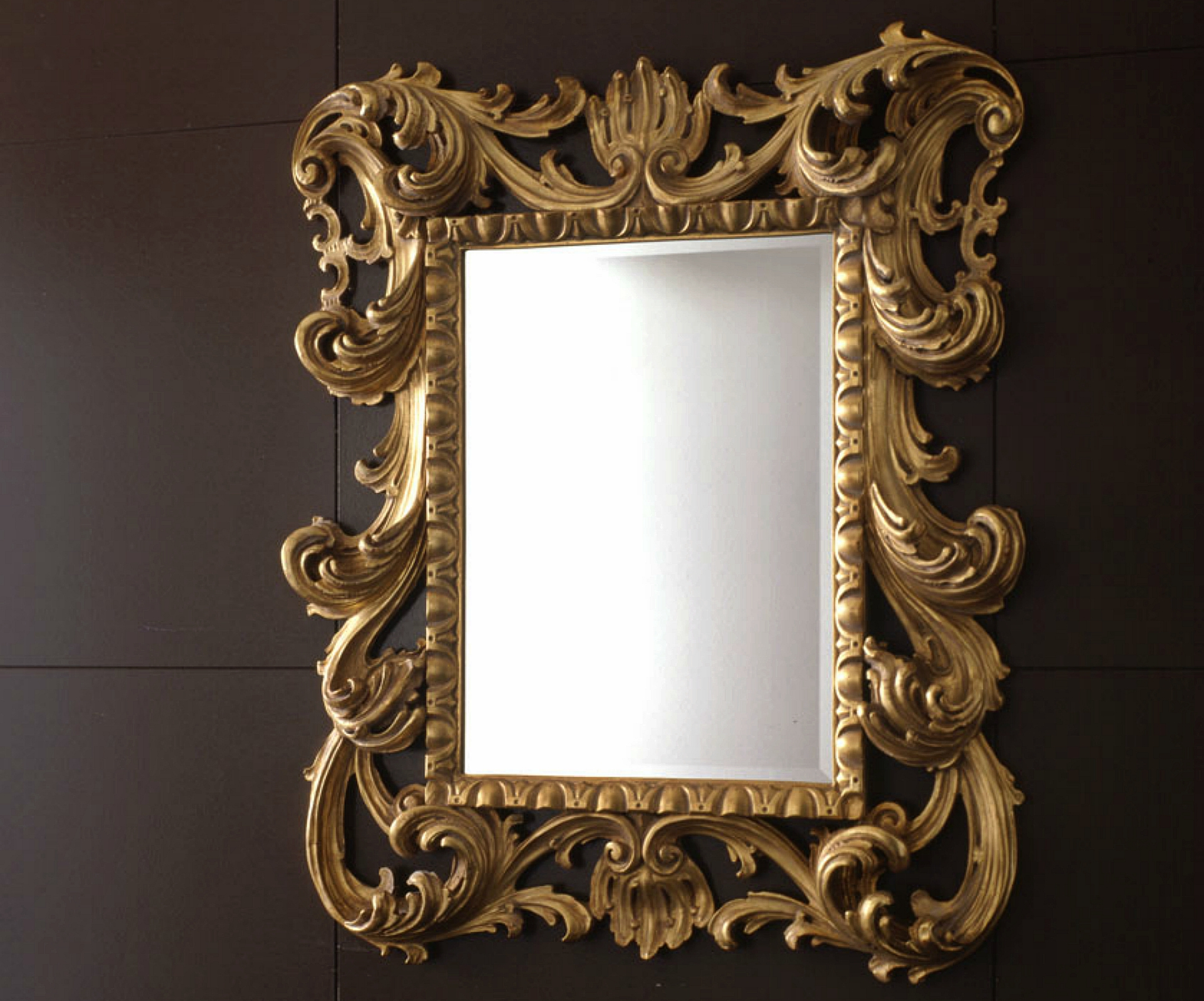 Loto small orsitalia for Small baroque mirror
