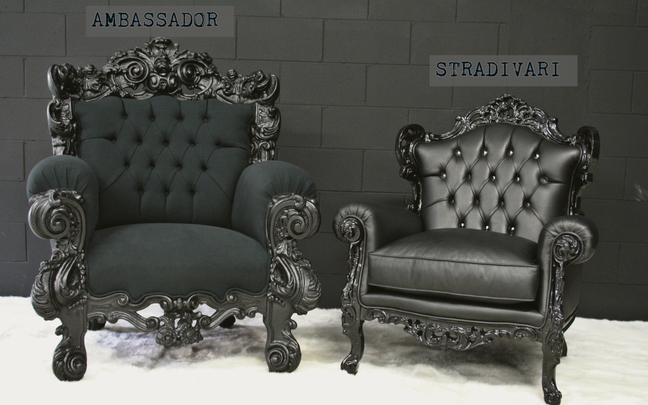 Ambassador Big Armchair Glam