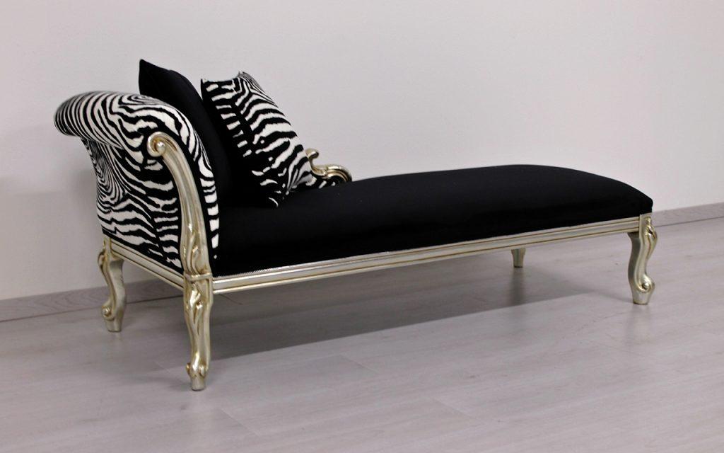 Cleopatra animalier fabric orsitalia for Chaise cleopatra
