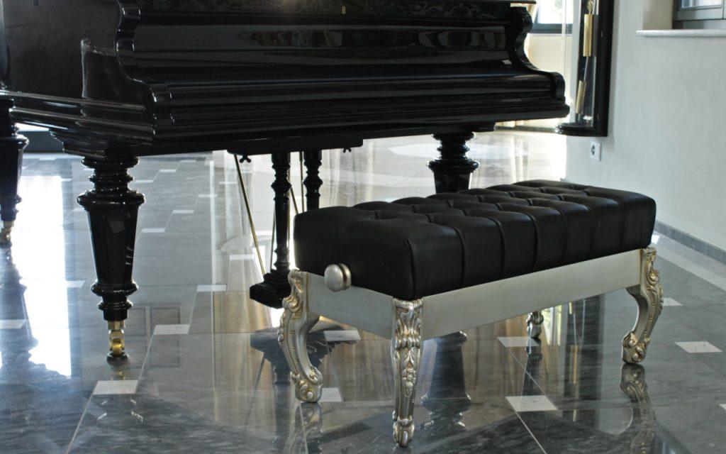 Finlandia pouf per pianoforte orsitalia