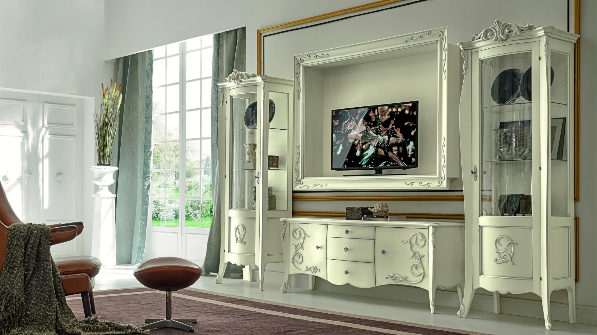Mobile Porta Tv Contemporaneo.Arabesque Orsitalia