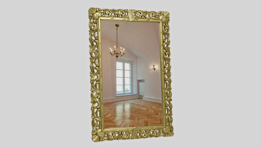 Nevada Orsitalia, Gold Baroque Mirror Full Length